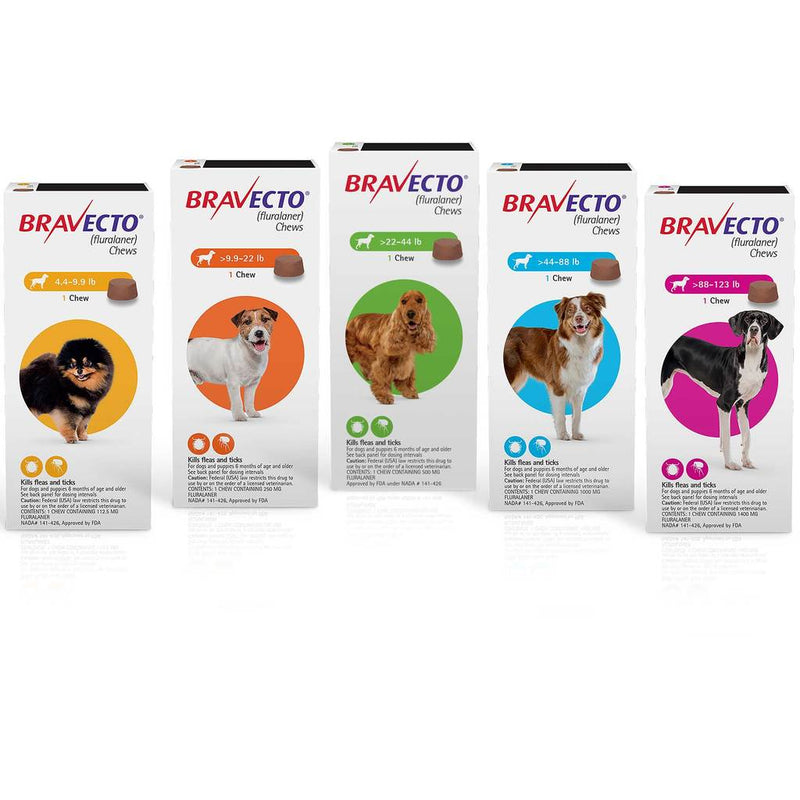 Bravecto Tick And Flea Control 20kg - 40kg