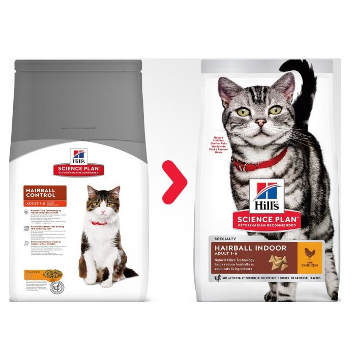 Hill's™ Science Plan™ Hairball Indoor Adult with Chicken Cat Food