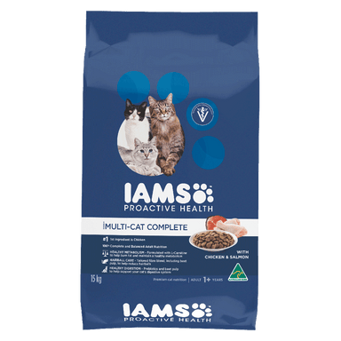 IAMS™ MULTI-CAT HOUSEHOLDS