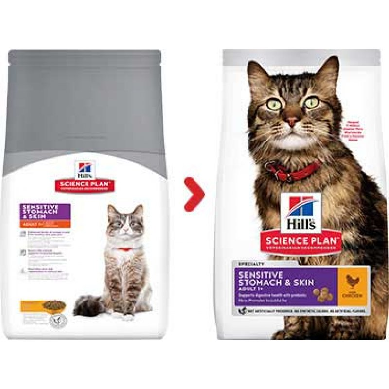 Hill's™ Science Plan™ Sensitive Stomach & Skin Cat Food