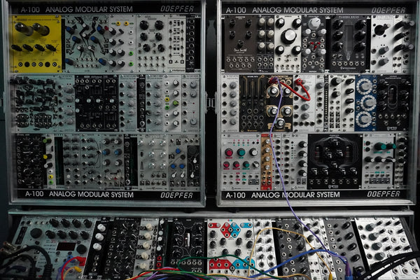 Modular Synth Techno Samples