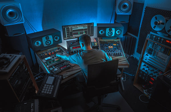 Music Studio Techno Producer