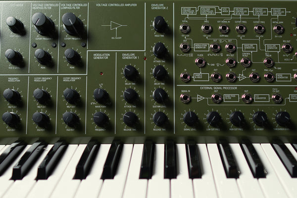 KORG MS-20 vintage synth for techno