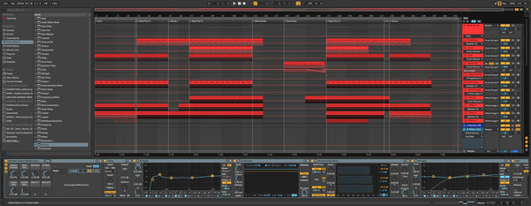Riemann Hard Techno Template for Ableton 10