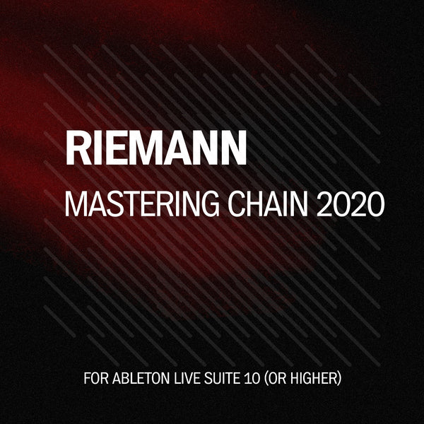 Free Techno Mastering Chain for Ableton Live 10