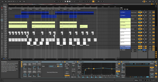 Deep Techno Template for Ableton Live