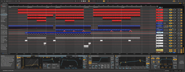 Riemann Hard Techno Template for Ableton Live 10