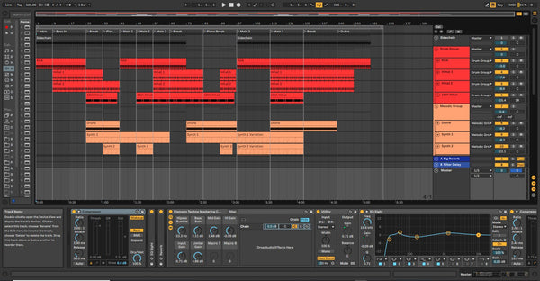 Melodic Techno Template for Ableton Live