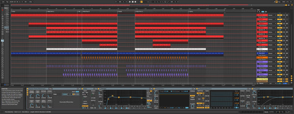Rave Techno Template for Ableton