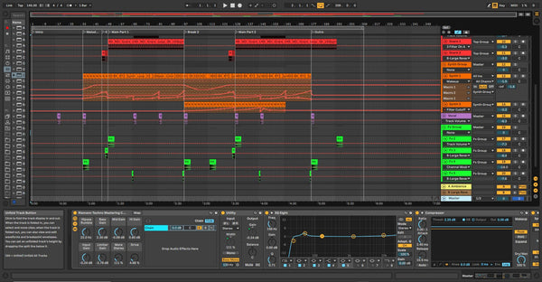 Rave Template for Ableton Live
