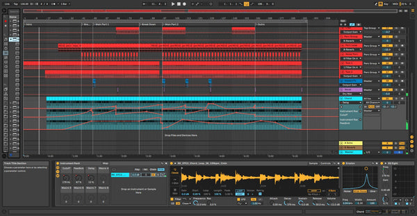 Techno template for Ableton Live