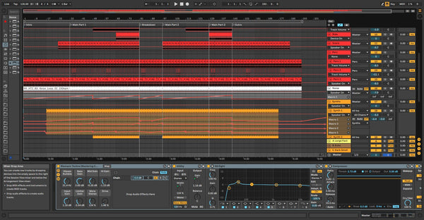 Techno Template for Ableton 10
