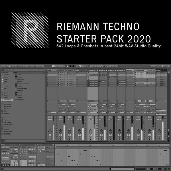 Riemann Techno Starter Sample Pack 2020 (For Ableton and FL Studio)