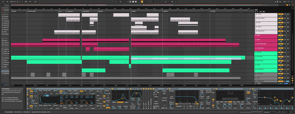Hard Techno Template Ableton 10 and 11