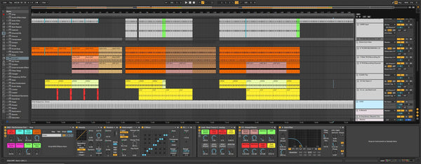 Essential Techno Tools for Ableton Live 10 or higher