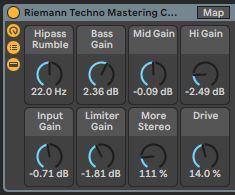 Techno Mastering Chain for Ableton