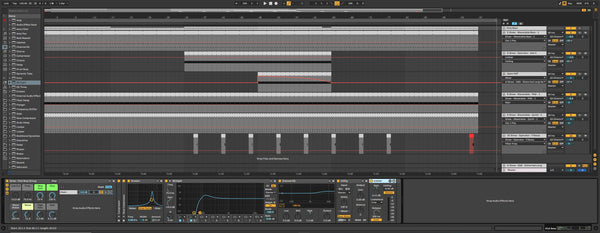 Ableton Live 10 Template - Techno Tools