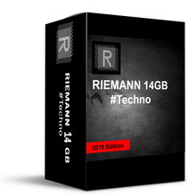 RIEMANN 14GB (8098 x 24bit WAV Techno Loops & Oneshots) 2020 Edition