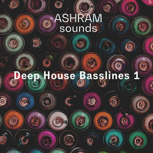 ASHRAM Deep House Basslines 1 (Loops Sample Pack)