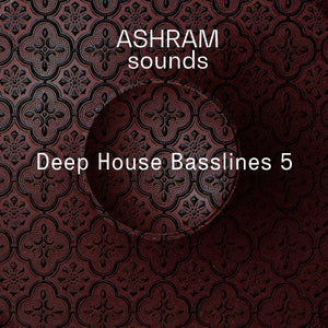 ASHRAM Deep House Basslines 5 (Loops Sample Pack)