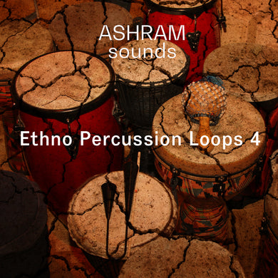 ASHRAM Ethno Percussion Loops 4 (Organic House Sample Pack)