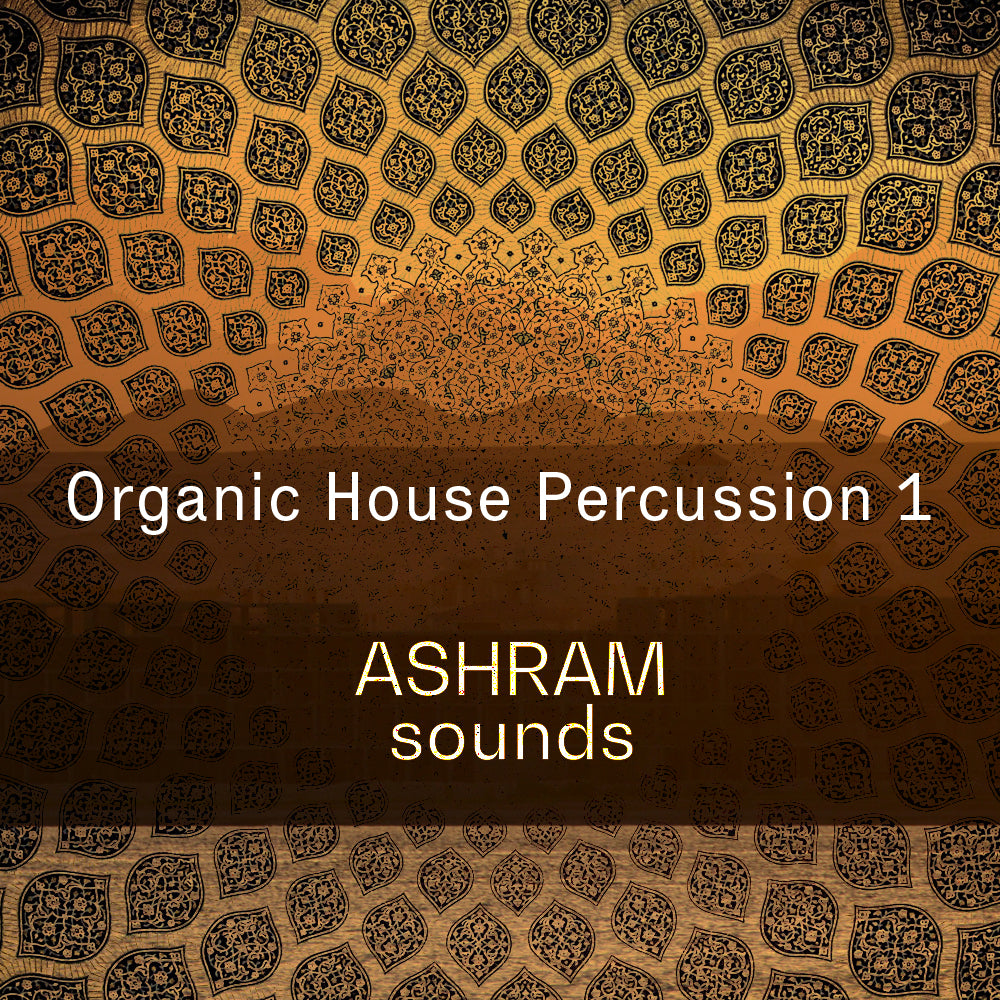ASHRAM Organic House Percussion 1 (Loops Sample Pack)
