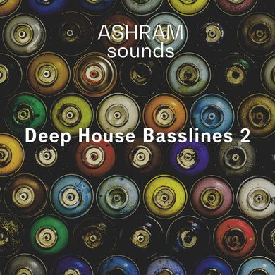 ASHRAM Deep House Basslines 2 (Loops Sample Pack)