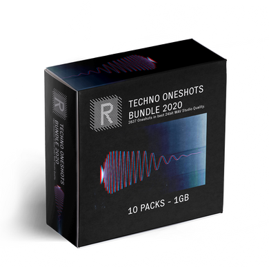 Riemann Techno Oneshots 10x Sample Packs Bundle 2020