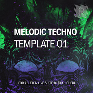 Riemann Melodic Techno 01 Template for Ableton Live 10 (and 11 and higher)