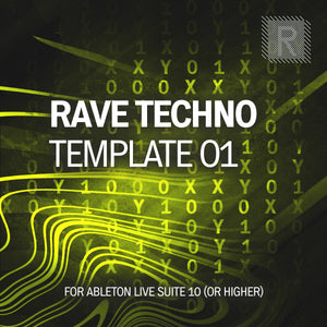 Riemann Rave Techno 01 Template for Ableton Live 10 (and 11 and higher)
