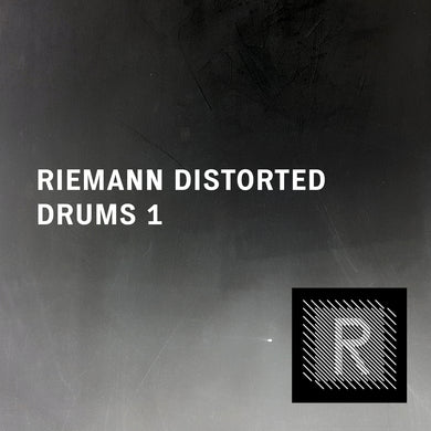 Riemann Distorted Drums 1 (24bit WAV Oneshots for Akai, Elektron, Ableton...)