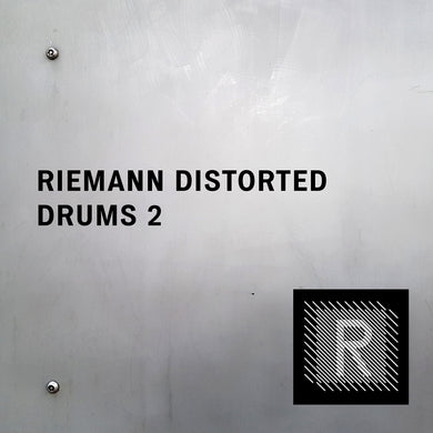 Riemann Distorted Drums 2 (24bit WAV Oneshots for Akai, Elektron, Ableton...)
