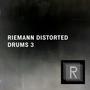 Riemann Distorted Drums 3 (24bit WAV Oneshots for Akai, Elektron, Ableton...)