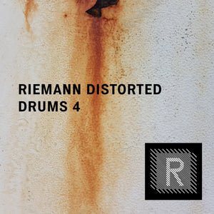 Riemann Distorted Drums 4 (24bit WAV Oneshots for Akai, Elektron, Ableton...)