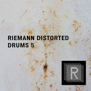 Riemann Distorted Drums 5 (24bit WAV Oneshots for Akai, Elektron, Ableton...)