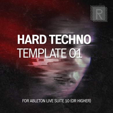 Riemann Hard Techno 01 Template for Ableton Live 10 (and 11 and higher)