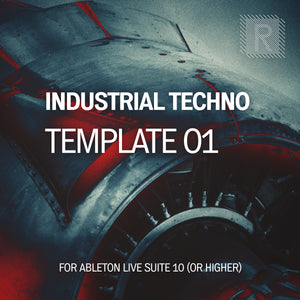 Riemann Industrial Techno 01 Template for Ableton Live 10 (and 11 and higher)