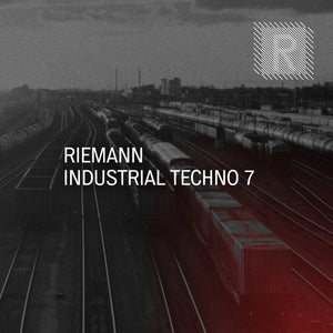 Riemann Industrial Techno 7 (24bit WAV Sounds & MIDI)