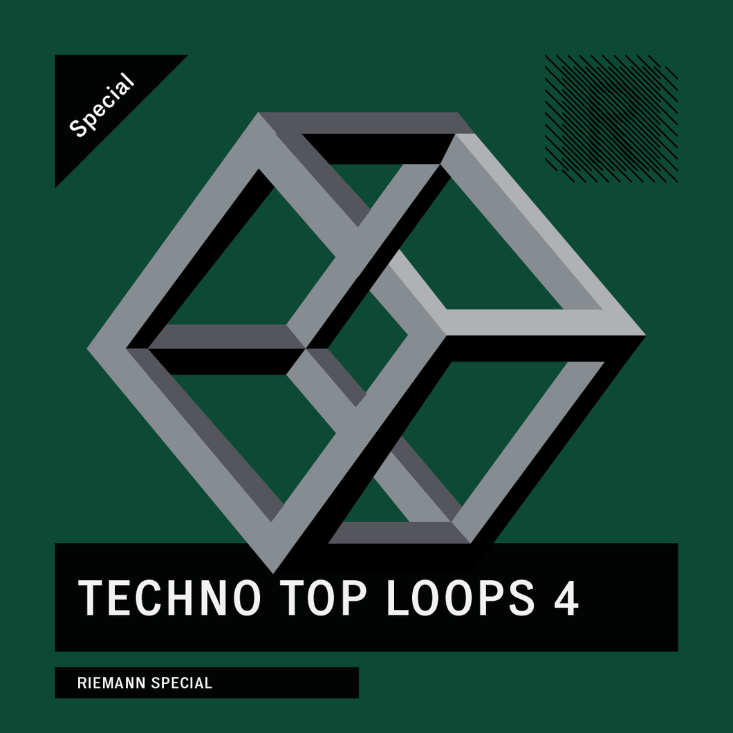 Riemann Techno Top Loops 4 (24bit WAV Loops)