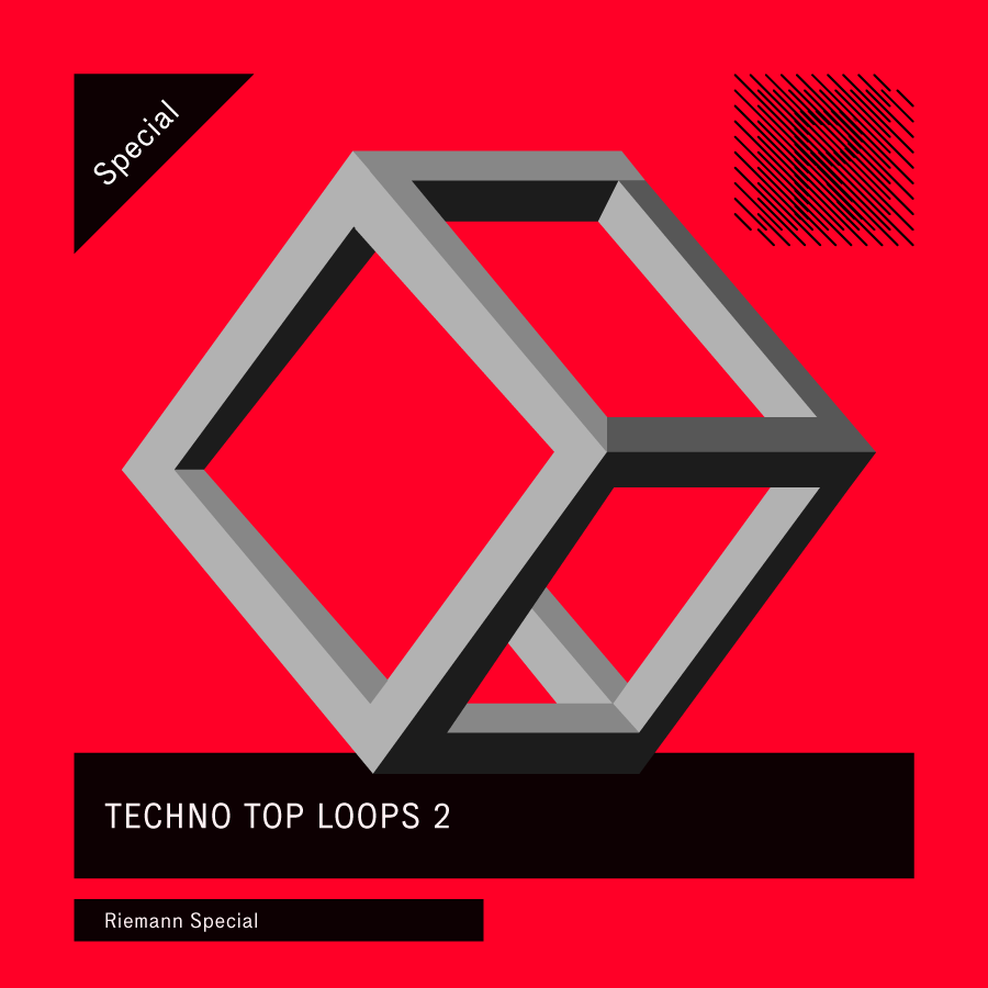 Riemann Techno Top Loops 2 (24bit WAV Loops)