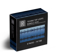 Riemann Techno Top Loops 6x Sample Pack Bundle 2020