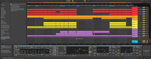 Industrial Acid Techno - Ableton Live Template by Sinee