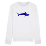 Sweat-shirt unisexe en coton bio - Requin