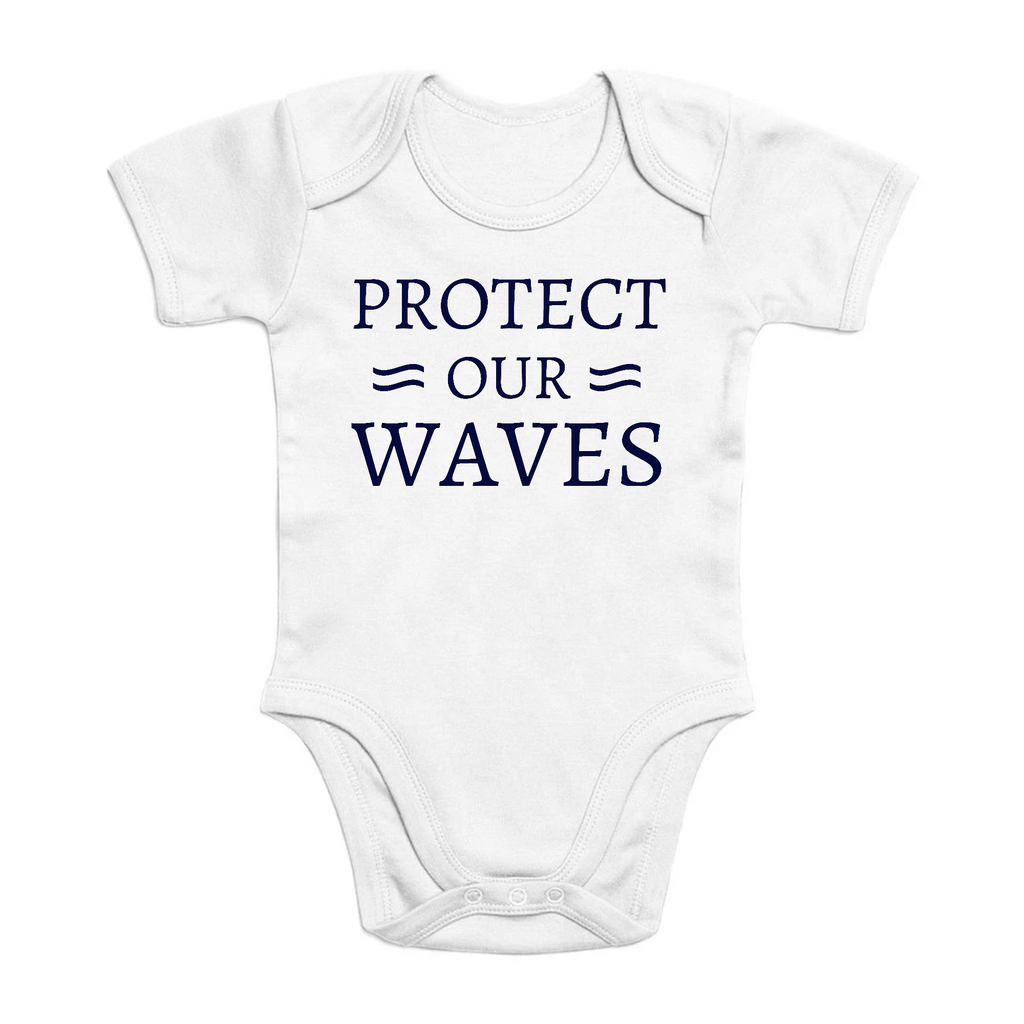 Body en coton bio - Protect our waves