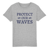 T-SHIRT ENFANT PROTECT OUR WAVES