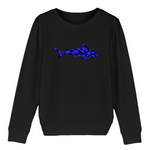 Sweat-shirt enfant en coton bio - Requin