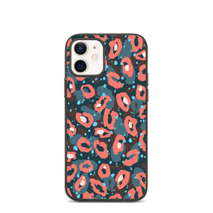Coque anti-choc biodégradable pour iPhone - Flowers