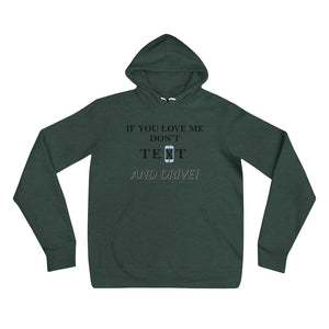 Generation Text Hoodie-If You Love Me