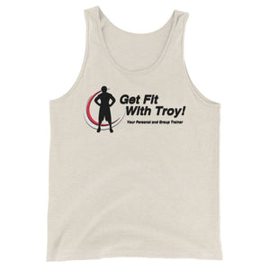Get Fit with Troy Unisex Tank Top
