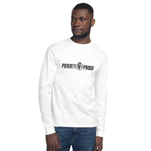 Poverty Proof Men's Champion Long Sleeve Shirt